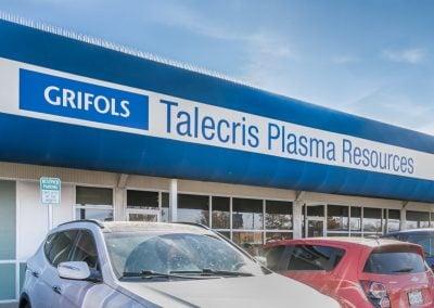 Avondale Shopping Center tenant Talecris Plasma Resources in Amarillo TX