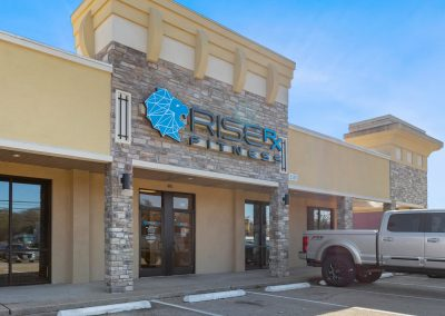 Rise Rx Fitness, a tenant at Broadway Town Center in Tyler TX