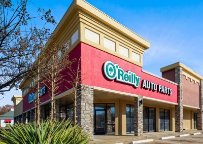 O'Reilly Auto Parts, a major tenant at Broadway Town Center in Tyler TX