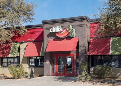 Chili's, a tenant at the Colonnade at Polo Park shopping center in Midland TX