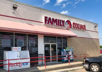 Family Dollar, a general store located in the Joshua Shopping Center in Joshua TX