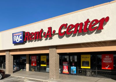 Rent-A-Center, a store in the Live Oak Shopping Center in Odessa TX