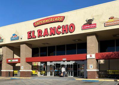 El Ranchero Supermercado, a grocery store in the Live Oak Shopping Center in Odessa TX