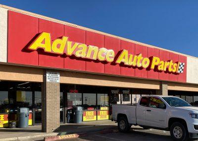 Advance Auto Parts, a store in the Live Oak Shopping Center in Odessa TX