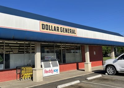 Dollar General, a retail shop in the Saginaw Commons shopping center in Saginaw TX