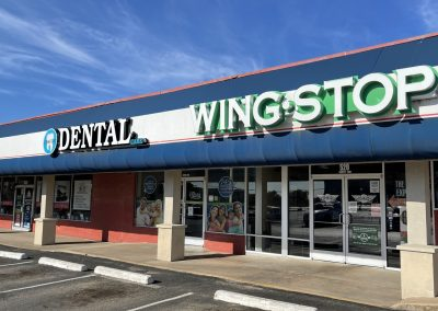 Wingstop, a restaurant in the Saginaw Commons shopping center in Saginaw TX
