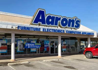 Aaron's, a furniture store in the Town & Country Shopping Center in Odessa TX