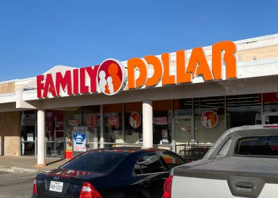 Family Dollar, a store in the Town & Country Shopping Center in Odessa TX