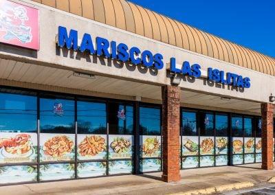 Mariscos Las Islitas, a restaurant in the Concord Corners shopping center in Smyrna GA