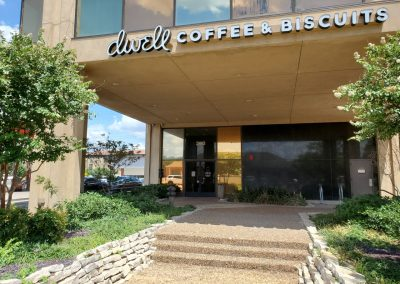 Campus Office Tower in Fort Worth TX featuring Dwell Coffee & Biscuits