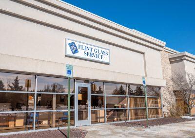 Flint Glass Service, a glass & mirror shop in the Linden Creek business park in Flint Township, MI