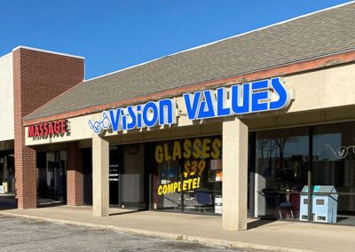 Vision Values, a store in the Sherwood Commons shopping center in San Angelo TX
