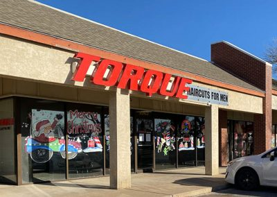 Torque Hair Cuts for Men, a hair salon in the Sherwood Commons shopping center in San Angelo TX