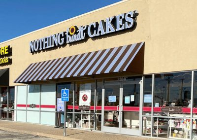Nothing Bundt Cakes, a bakery in the Sherwood Commons shopping center in San Angelo TX