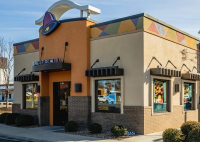 Taco Bell, a tenant at Akers Center in Gastonia NC