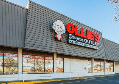 Ollie's Bargain Outlet, an anchor tenant at Akers Center in Gastonia NC