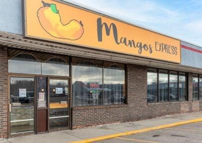 Mangos Express, a restaurant in the Thunder Bay shopping center in Alpena MI