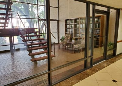 Lobby of the Chamberlin Heights office building in Fort Worth TX