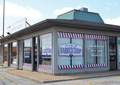 Chris' Barber Shop, a barber in the Field Shopping Center in Morton IL