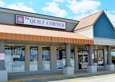 The Quilt Corner, a quilt shop in the Field Shopping Center in Morton IL