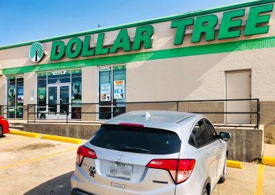 Dollar Tree, a bargain store located in the Joshua Dollar Tree Plaza shopping center in Joshua TX