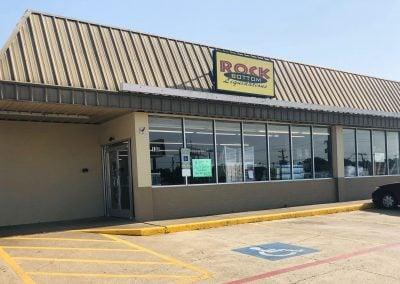 Rock Bottom Liquidation, a liquidation store located in the Joshua Dollar Tree Plaza shopping center in Joshua TX