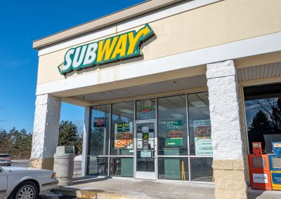 Subway, a restaurant in the West Acres Commons shopping center in Flint Township, MI