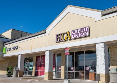 ELGA Credit Union, a credit union in the West Acres Commons shopping center in Flint Township, MI