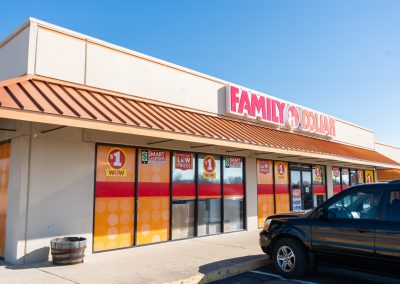 Family Dollar, a store in the West Highlands Shopping Plaza in Tulsa OK