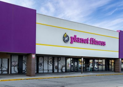 Planet Fitness, a gym in the Northmont Plaza shopping center in Englewood, OH