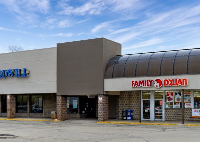 Goodwill and Family Dollar, two popular stores in the Northmont Plaza shopping center in Englewood, OH