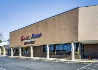 Asheboro Plaza shopping center Compare Foods anchor tenant