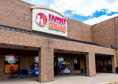 Family Dollar, a discount store in the Radcliff Square shopping center in Radcliff KY