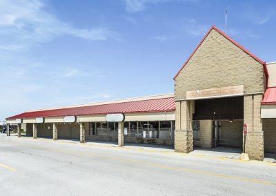 Fostoria Plaza shopping center in Fostoria Ohio