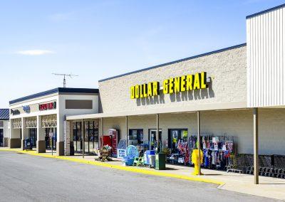 Greensburg Crossing shopping center Dollar General
