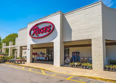 Marion City Square shopping center main tenant Roses