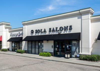 Sola Salon Studios, a beauty salon in the Shops at Rock Creek shopping center in Cordova TN