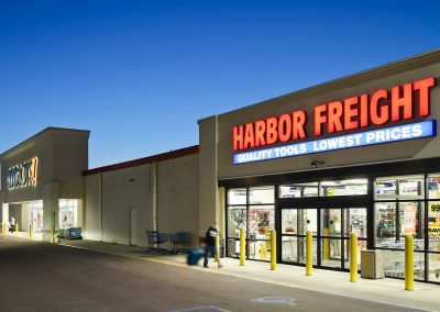 Pipestone Plaza shopping center with Harbor Freight in Benton Harbor MI