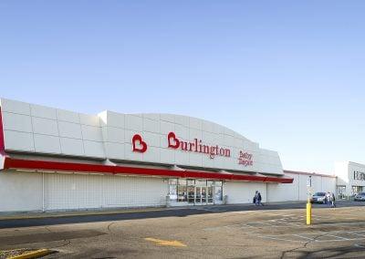 Pipestone Plaza shopping center with Burlington Coat Factory in Benton Harbor MI
