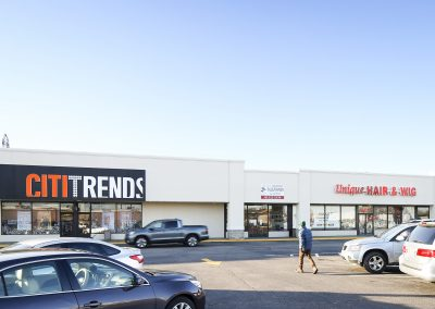Pipestone Plaza shopping center with City Trends in Benton Harbor MI