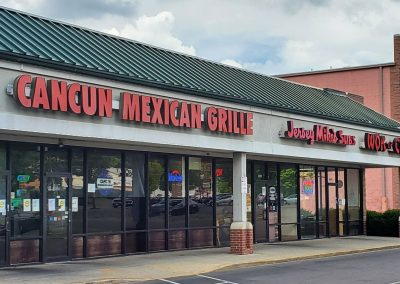 Cancun Mexican Grille & Jersey Mike's Subs at Glenway Crossing shopping center in Cincinnati Ohio