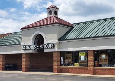 Bargains & Buyouts at Glenway Crossing shopping center in Cincinnati Ohio