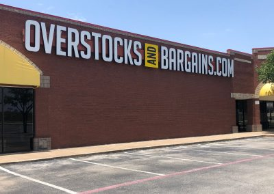 Overstocks and Bargains at the North Hills Village shopping center in North RIchland Hills Texas