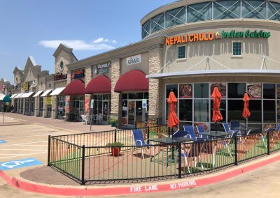 Nepali Chulo Indian Cuisine at the Park Glen Summit shopping center in Fort Worth Texas