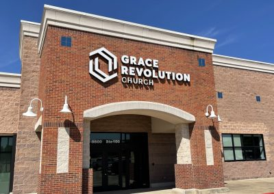 Grace Revolution Church, a church in the West Stage shopping center in North Richland Hills TX