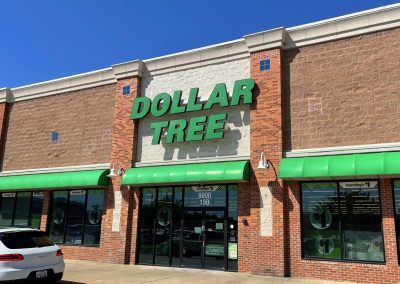 Dollar Tree, a bargain store at the West Stage shopping center in North Richland Hills TX