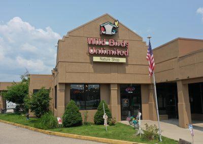 Wild Birds Unlimited, a store in the Promenade Plaza shopping center in Cincinnati, Ohio