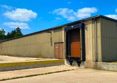 Loading dock of the Former Shopko freestanding retail building available in Clintonville WI