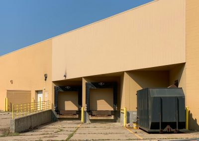 Loading docks of the Former Shopko freestanding retail building available in Marshall MN