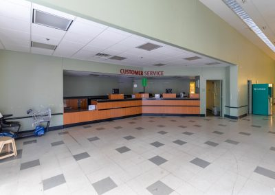 Interior of the Former Shopko freestanding retail building available in Marshall MN